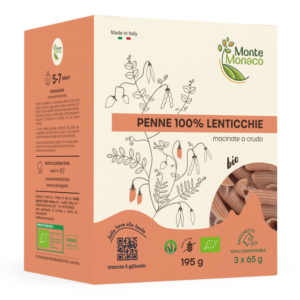 Penne 100% Lenticchie Monte Monaco